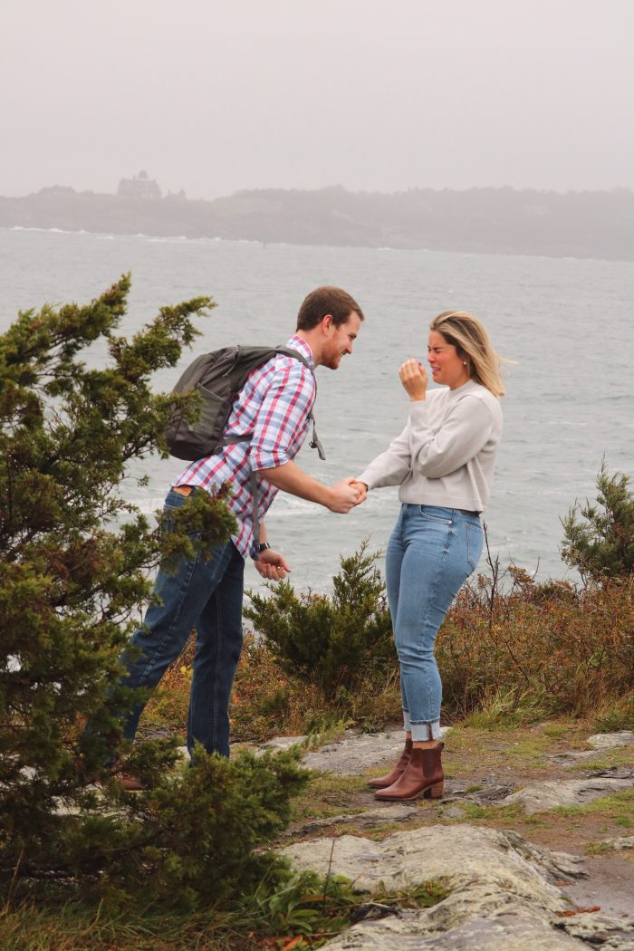 Nicole and Richie's Engagement in Newport, Rhode Island