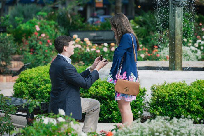 Kalie's Proposal in Winter Park, FL