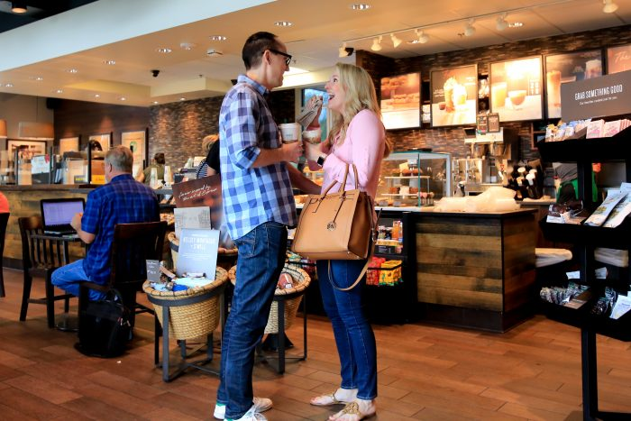 Engagement Proposal Ideas in Starbucks