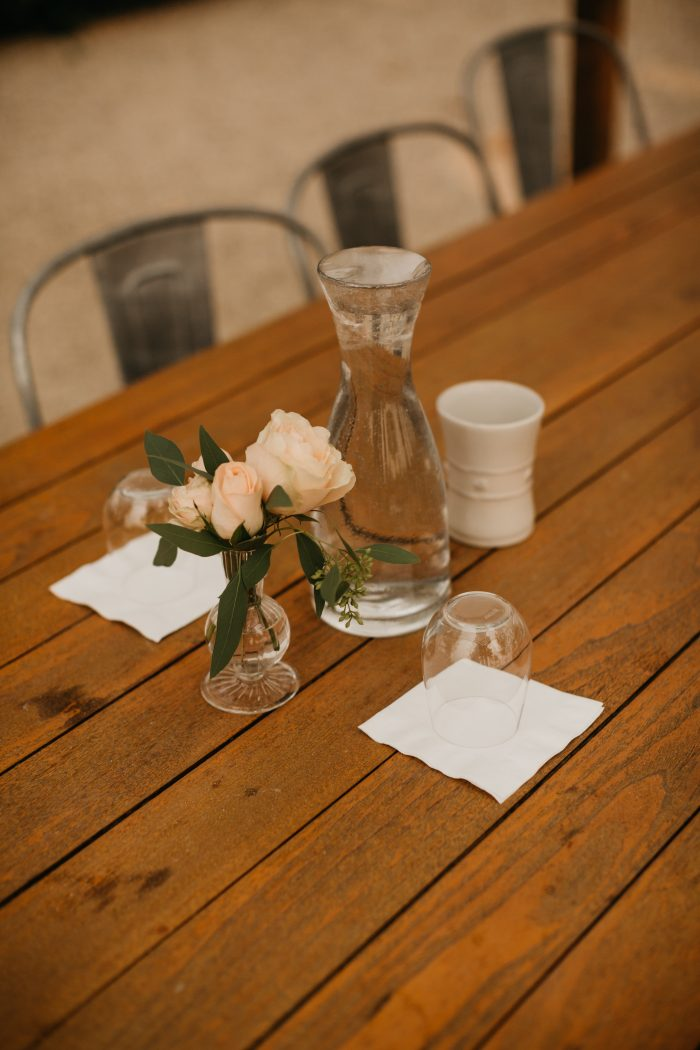 Hannah's Proposal in DeLoach Vineyards