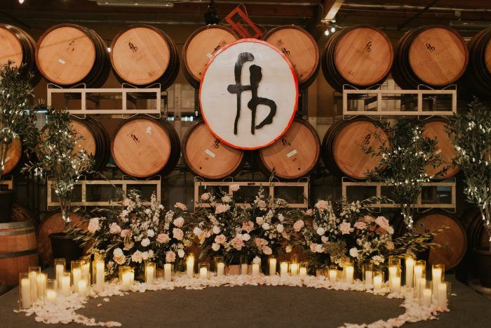 Jordan and Kristina's Engagement in Four Brix Winery