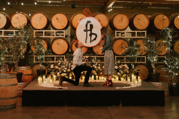 Engagement Proposal Ideas in Four Brix Winery