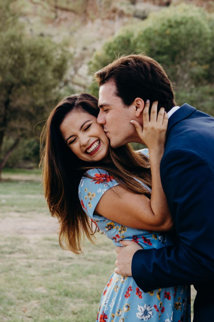 Maia and Robby's Engagement in Butcher Jones Recreation Area, Arizona