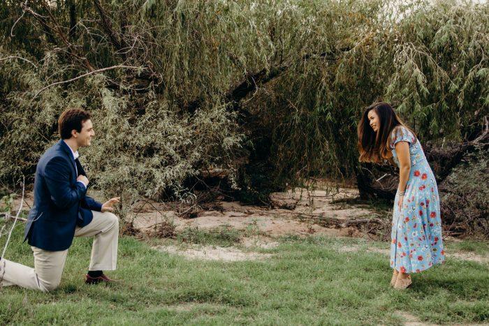 Marriage Proposal Ideas in Butcher Jones Recreation Area, Arizona