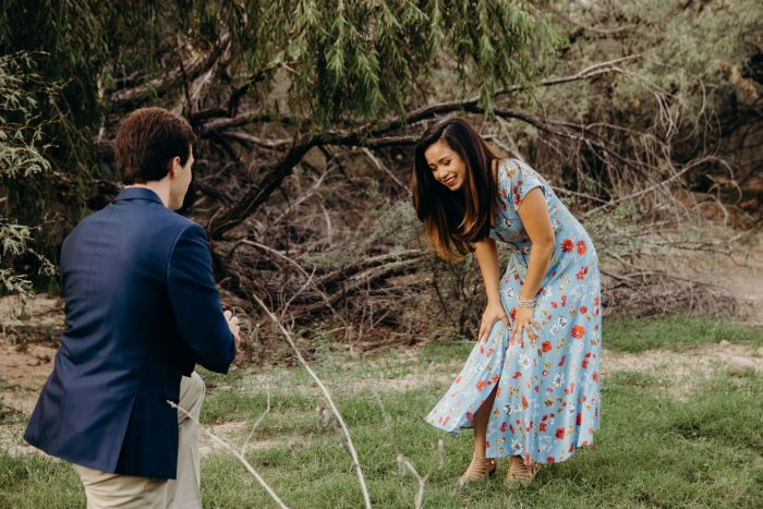 Where to Propose in Butcher Jones Recreation Area, Arizona