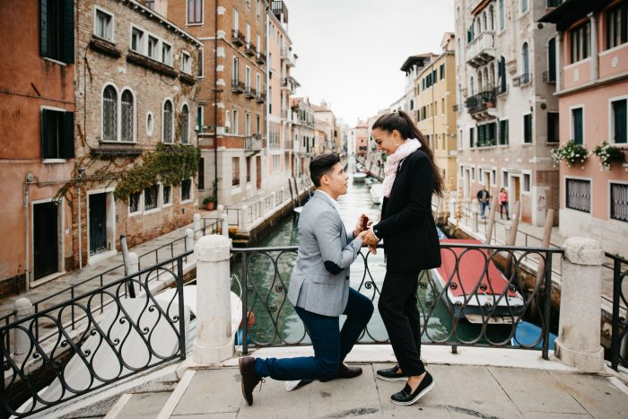 Wedding Proposal Ideas in VENICE