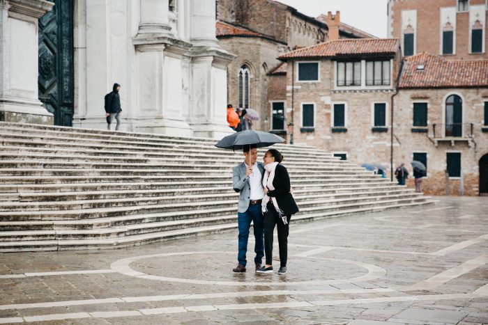 KRITZIE and ROBERT's Engagement in VENICE