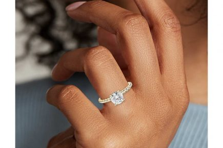 twist solitaire ring by blue nile