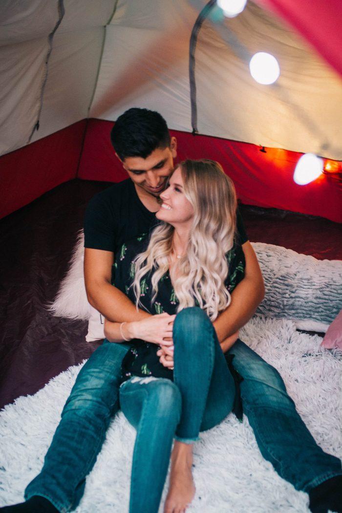 Wedding Proposal Ideas in Asheville, North Carolina at the biltmore estate antler village