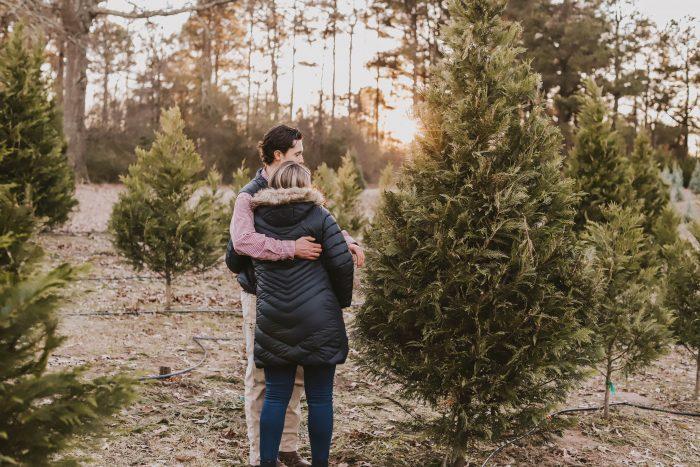 Marriage Proposal Ideas in Motley Tree Farm