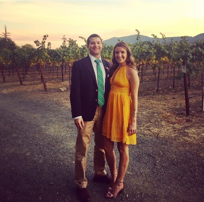 Morgan and Mark's Engagement in Colloca Winery, New York