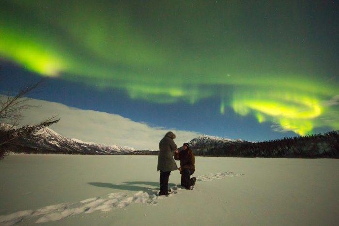 Judy's Proposal in Wiseman, Alaska