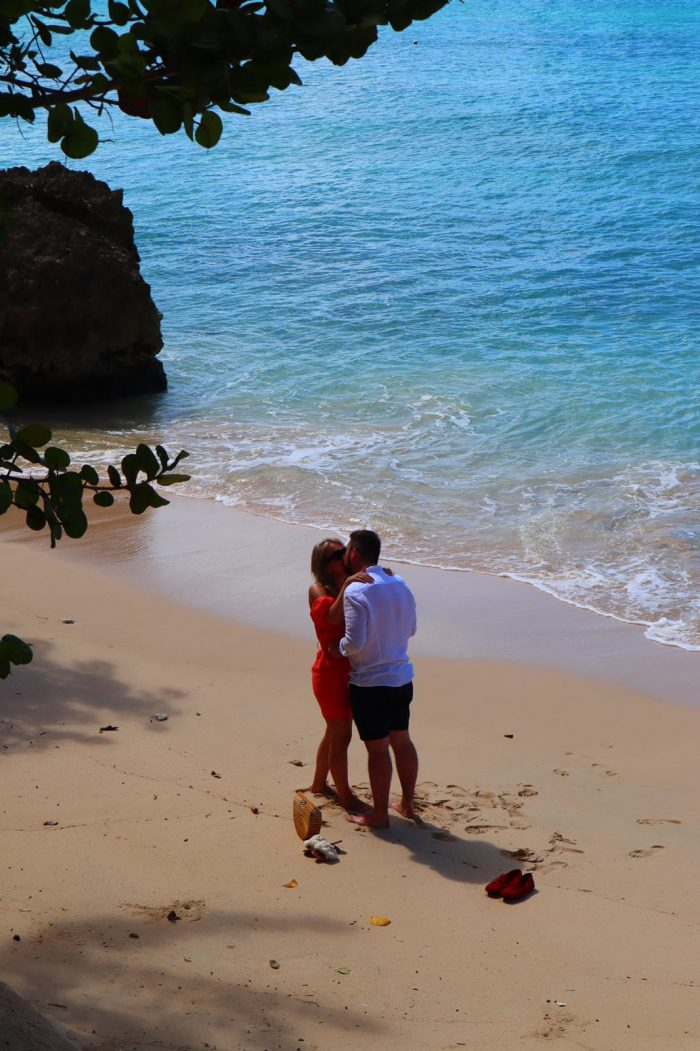 Ella's Proposal in Barbados
