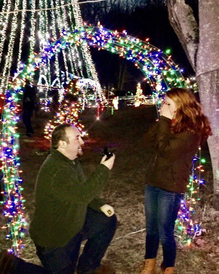 Elizabeth's Proposal in Boones Mill, VA