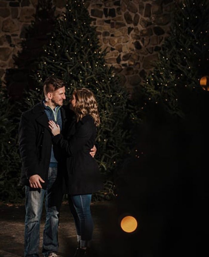 Where to Propose in Hubbard Park Festival of Silver Lights