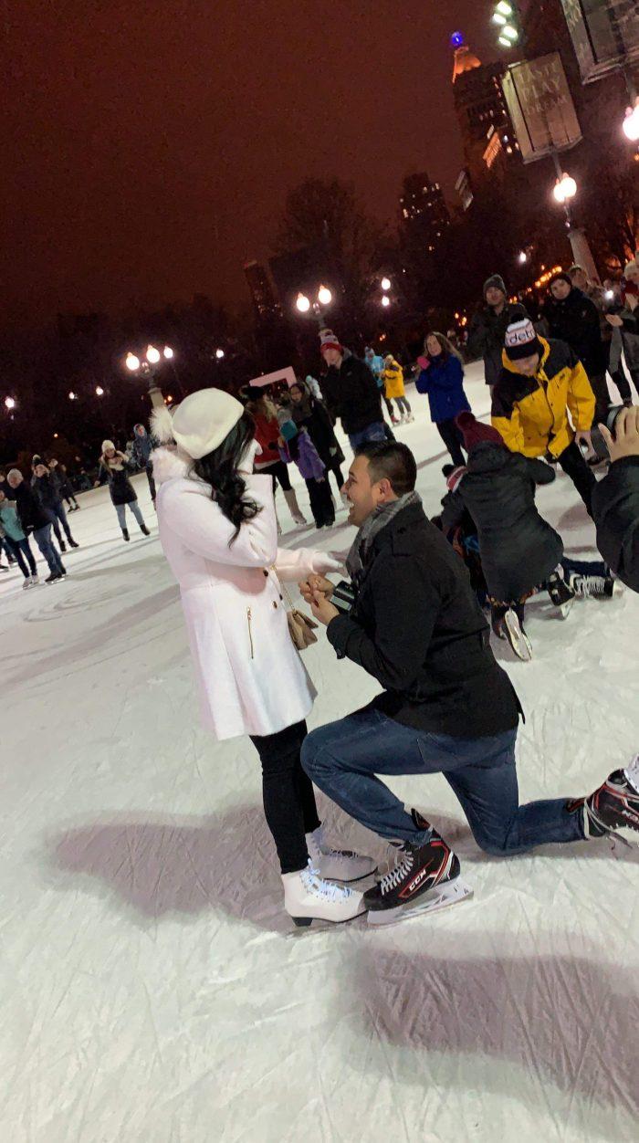 Kiara and Josh's Engagement in Millennium Park