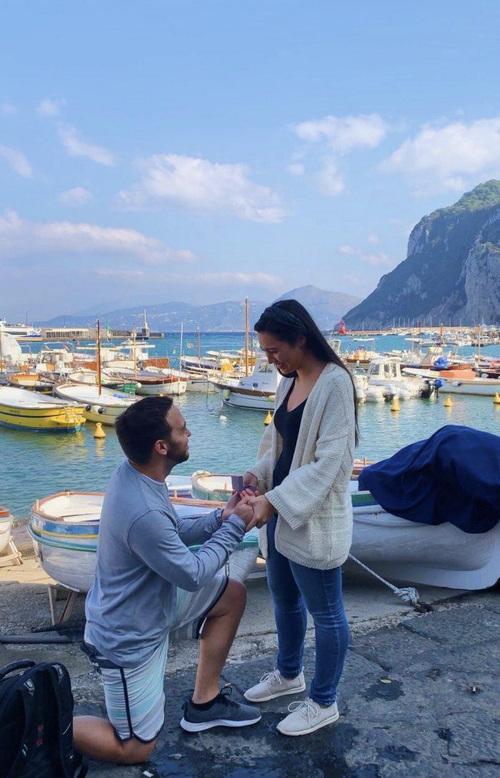 Wedding Proposal Ideas in Capri, Italy