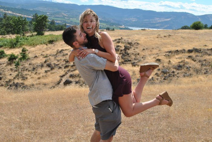 Engagement Proposal Ideas in Syncline Winery
