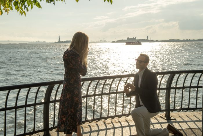Wedding Proposal Ideas in Battery park