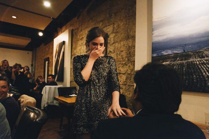 Julianna's Proposal in Denton, TX