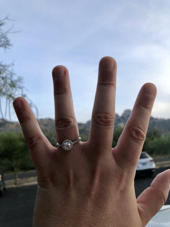 Jillian's Proposal in Catalina State Park Tucson, AZ