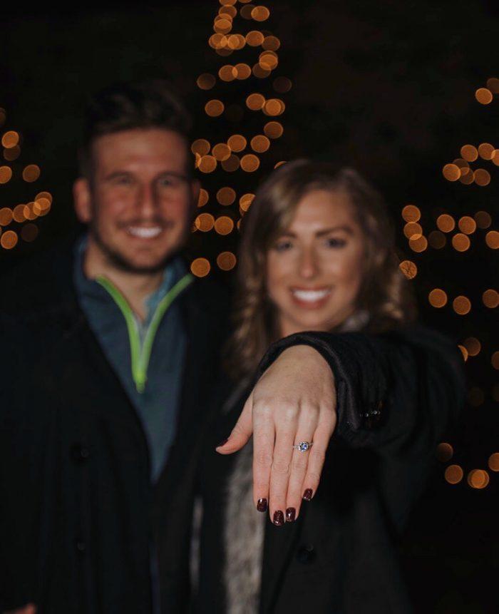 Wedding Proposal Ideas in Hubbard Park Festival of Silver Lights