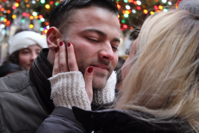 Alexis's Proposal in Rockefeller Center Tree