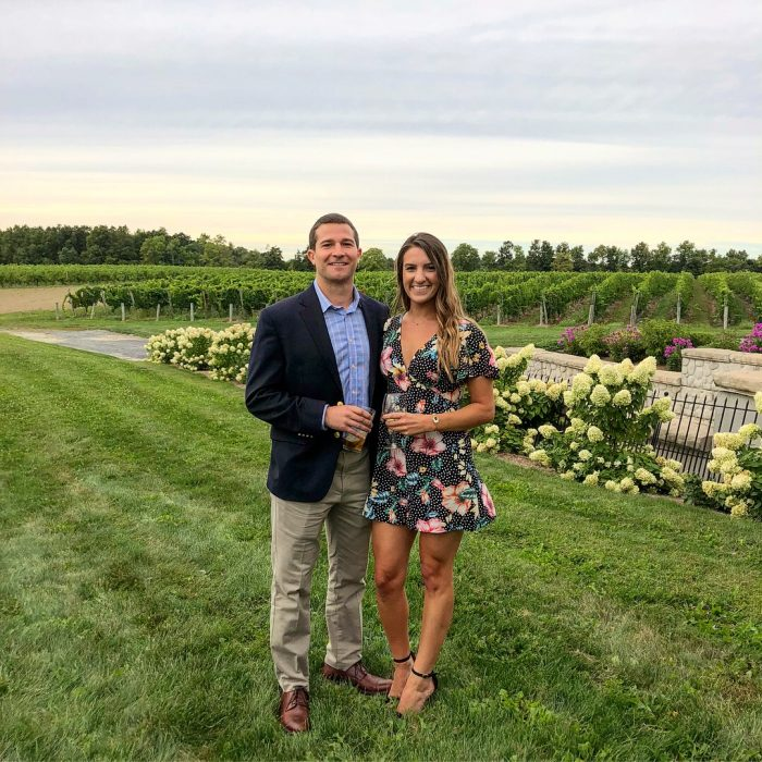 Morgan's Proposal in Colloca Winery, New York