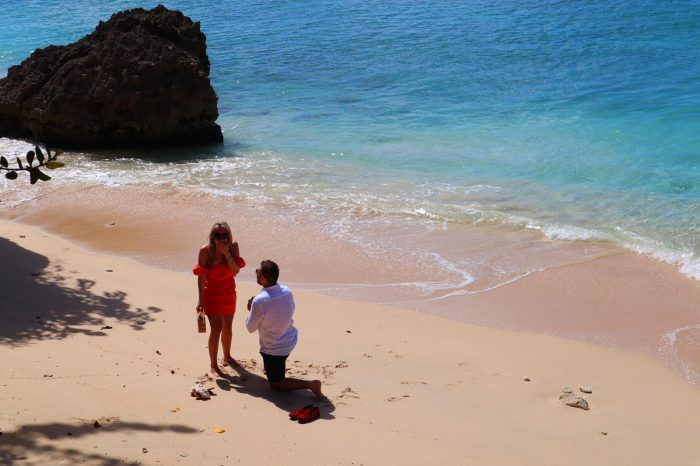 Ella and Max's Engagement in Barbados