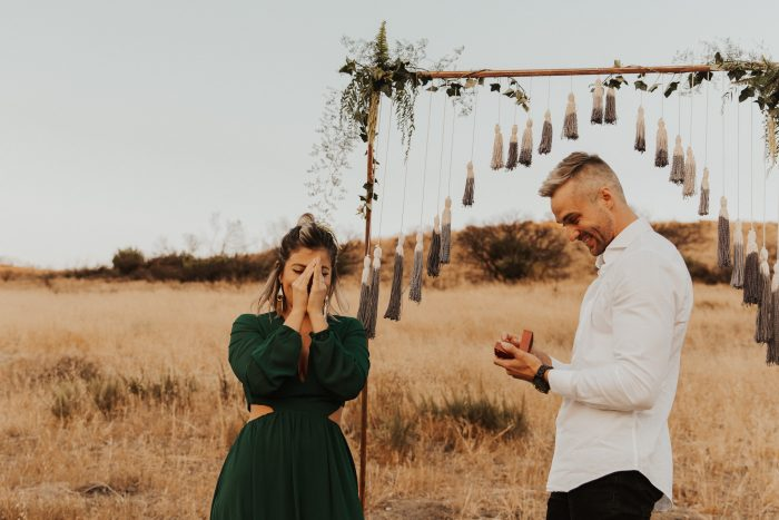 Proposal Ideas In the foothills in Orange country