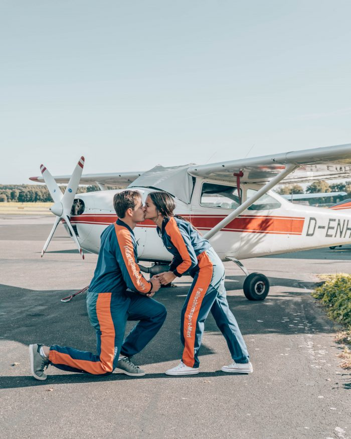 Proposal Ideas Skydiving in Germany