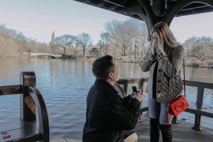 Megan and Jeremy's Engagement in Central Park, Manhattan, New York