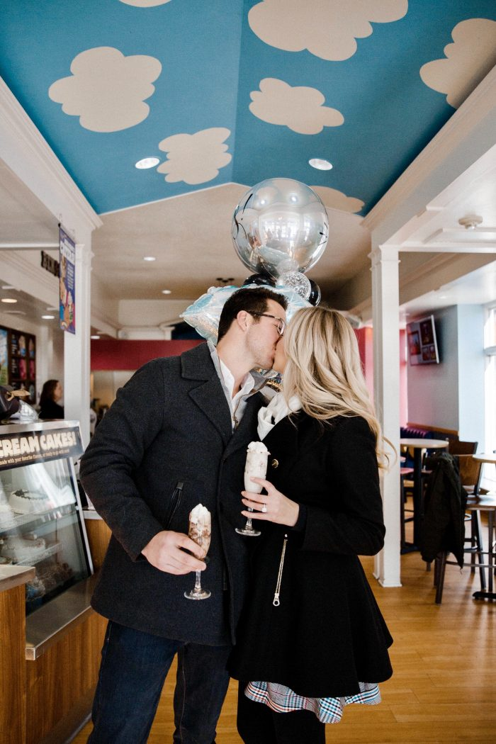 Where to Propose in Ben & Jerry's
