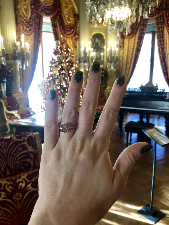Casey's Proposal in The Breakers Mansion, Newport,RI