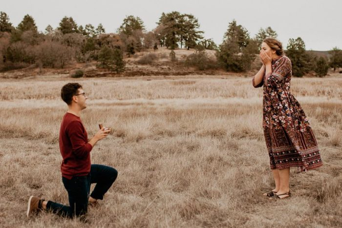Lilly's Proposal in Lake Cuyamaca