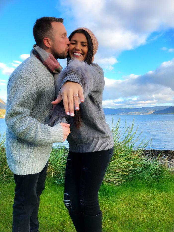 Jeneene and John's Engagement in Iceland