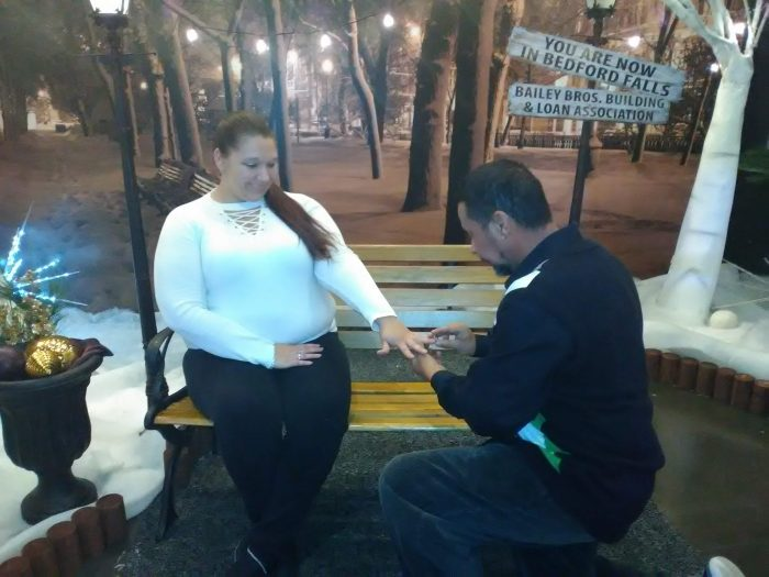 Wedding Proposal Ideas in Fantasy of Trees Knoxville, Tennessee