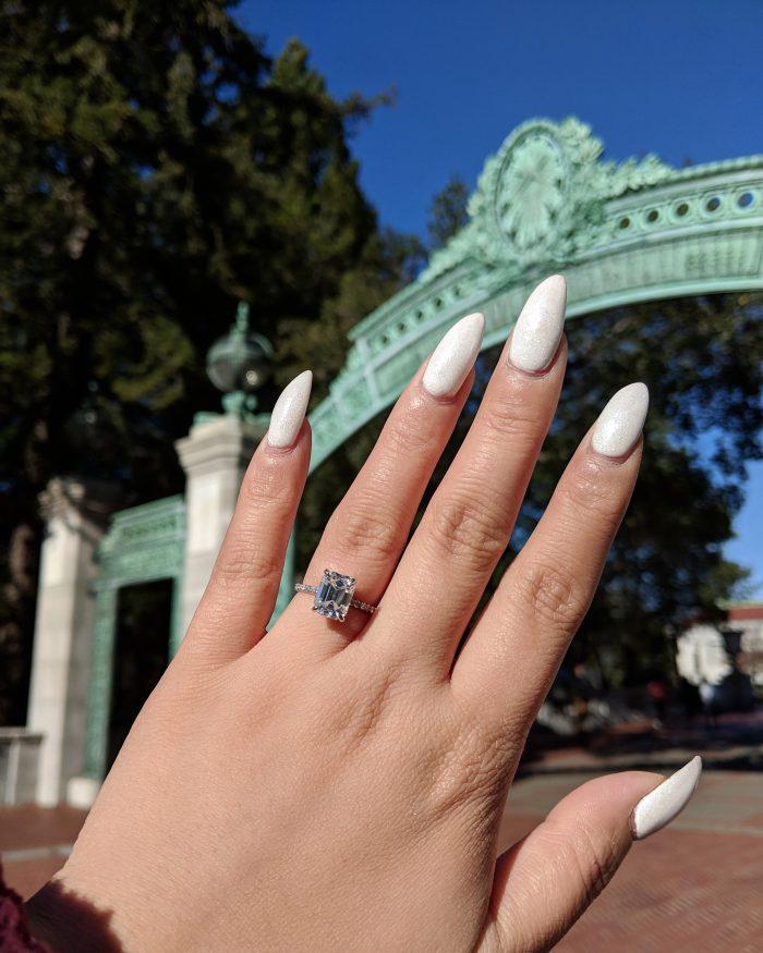 Trish and Steven's Engagement in UC Berkeley