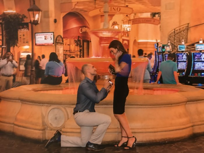 Francesca and Joseph's Engagement in Atlantic City, New Jersey