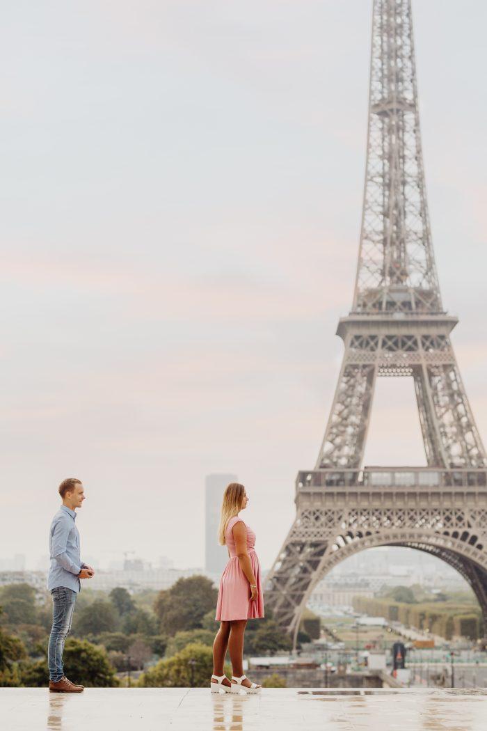 Proposal Ideas Paris, Eifeltower