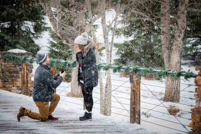 Carly and Matt's Engagement in Breckenridge, CO