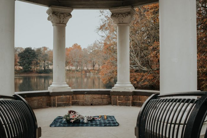 Bailey and Michael's Engagement in Piedmont Park, Atlanta