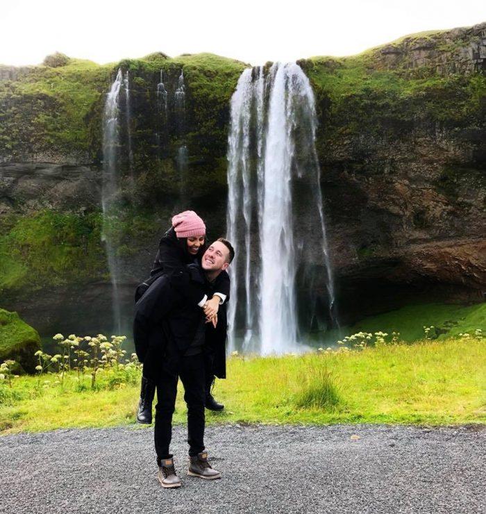 Jeneene's Proposal in Iceland