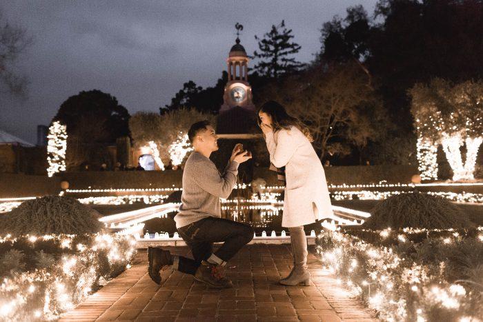 Wedding Proposal Ideas in Filoli Garden