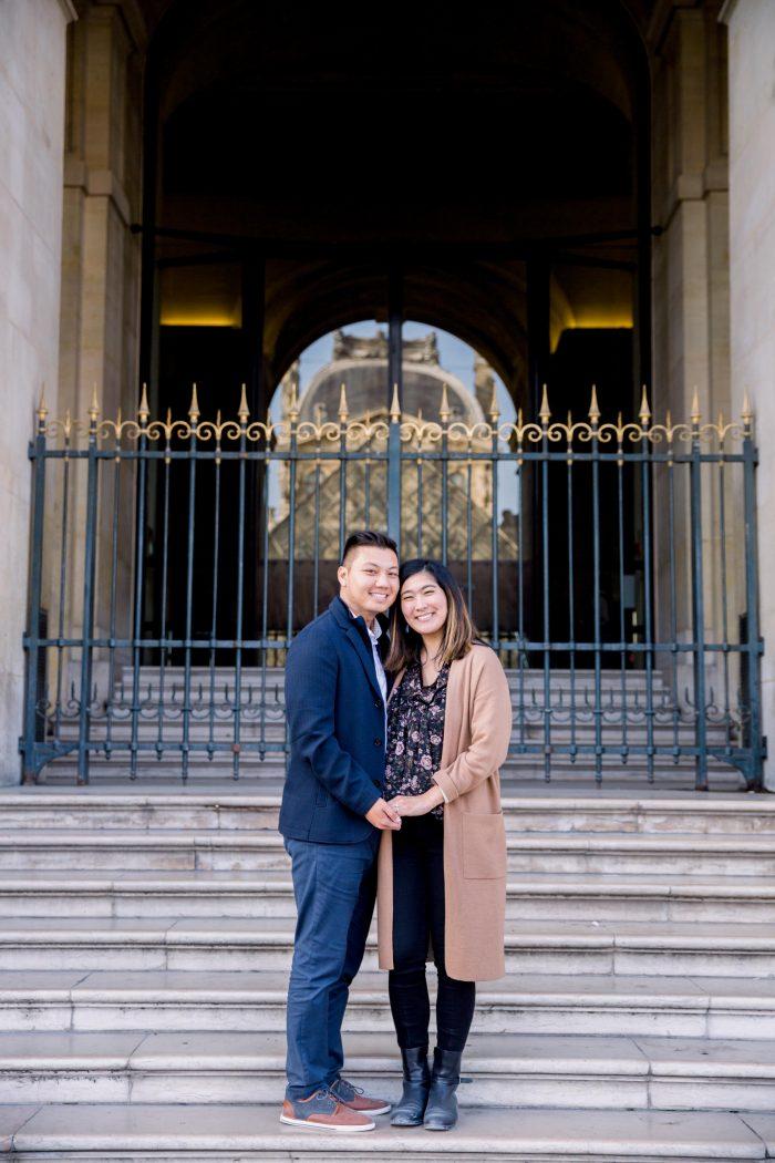 Kristel's Proposal in Paris, France