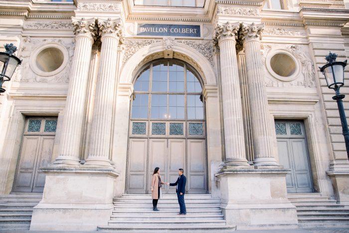 Kristel and Reggie's Engagement in Paris, France