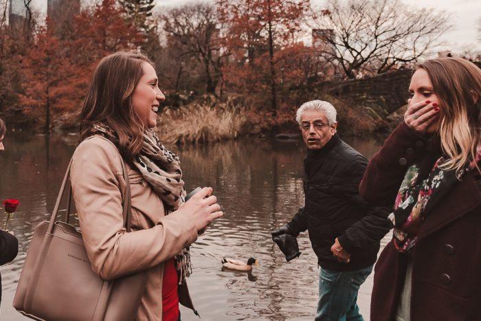 Wedding Proposal Ideas in Gapstow Bridge, Central Park