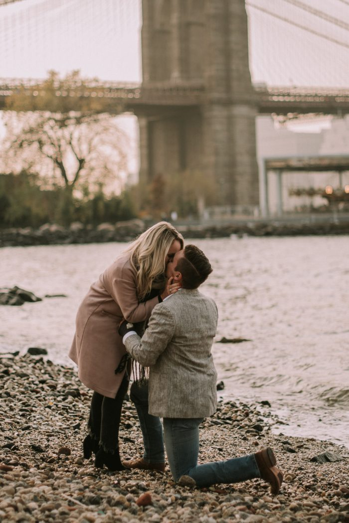 Engagement Proposal Ideas in Brooklyn Bridge