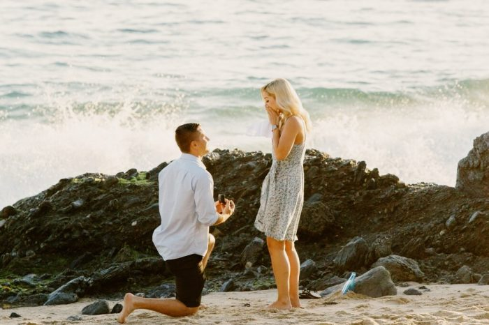 Engagement Proposal Ideas in Thousand Steps, Laguna Beach