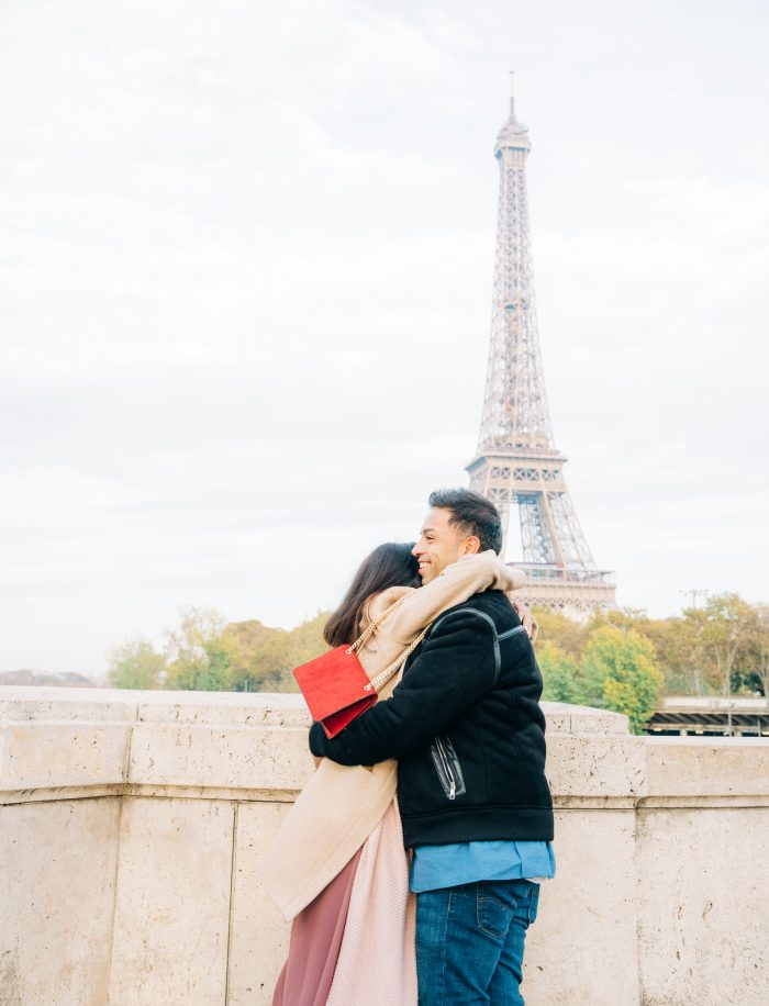 Akansha and Vick's Engagement in Paris, France